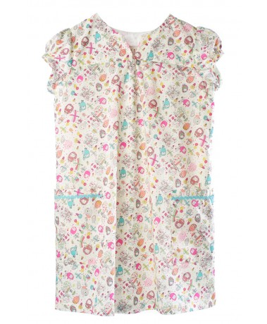 LulliluBusy Owl Liberty Print Dress